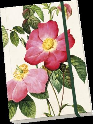 Anteckningsbok A5 rosor Sköna Ting - Anteckningsbok A5 rosor