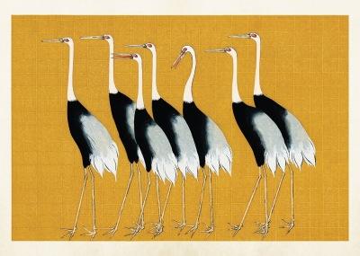 Poster vintage fåglar, 70x50 cm Sköna Ting - Poster vintage fåglar, 70*50 cm Sköna Ting