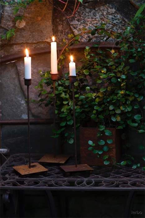 ELDgarden ljusstake Rönnbär 40 cm miljö