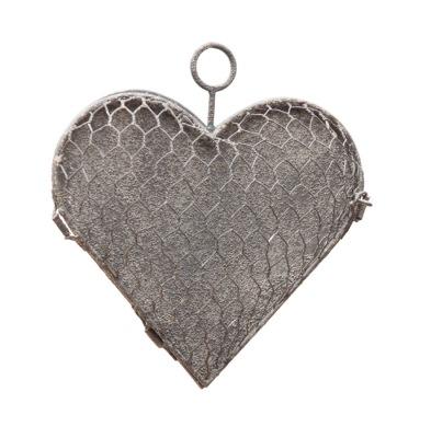 Hjärta i hönsnät ELDgarden öppningsbart - Hjärta i hönsnät ELDgarden liten öppningsbart
