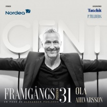 Interviewed in podcast presenting Sweden,s most influential people