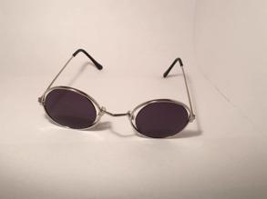 Varierande hippiebrillor