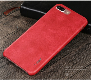 IPhone 7 plus-skal i vintage röd