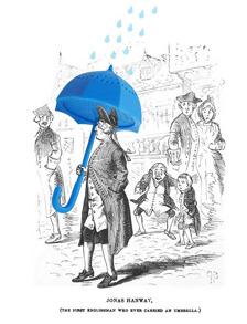 Tesil av paraply