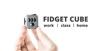 Fidget cube - svart/grå