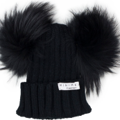 POMPOM Beanie (Available in grey)
