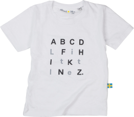 ABCD Little White CHILDREN - ABCD Little White  80 CL
