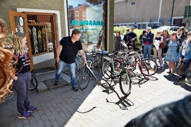 Fördröjning av flöden genom att renovera cyklar istället för att importera. Foto: Bengt Alm