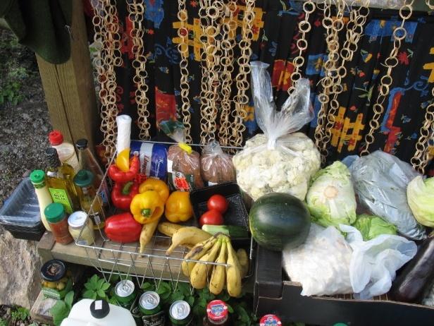 Fördröjning av flöde genom att tillvarata mat