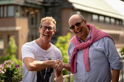 Gustaf Jönsson och Magnus Wernersson