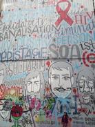 Gatukonst i Bryssel
