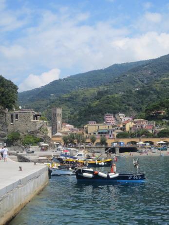 Hamnen i Monterosso