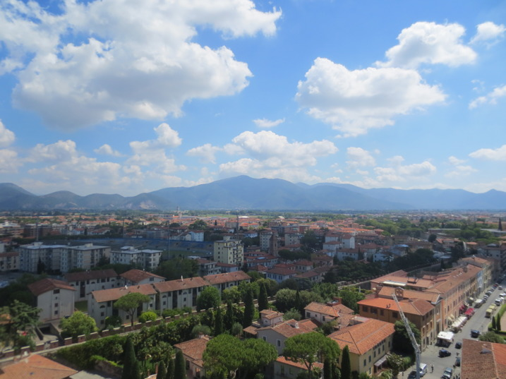 Utsikten från tornet