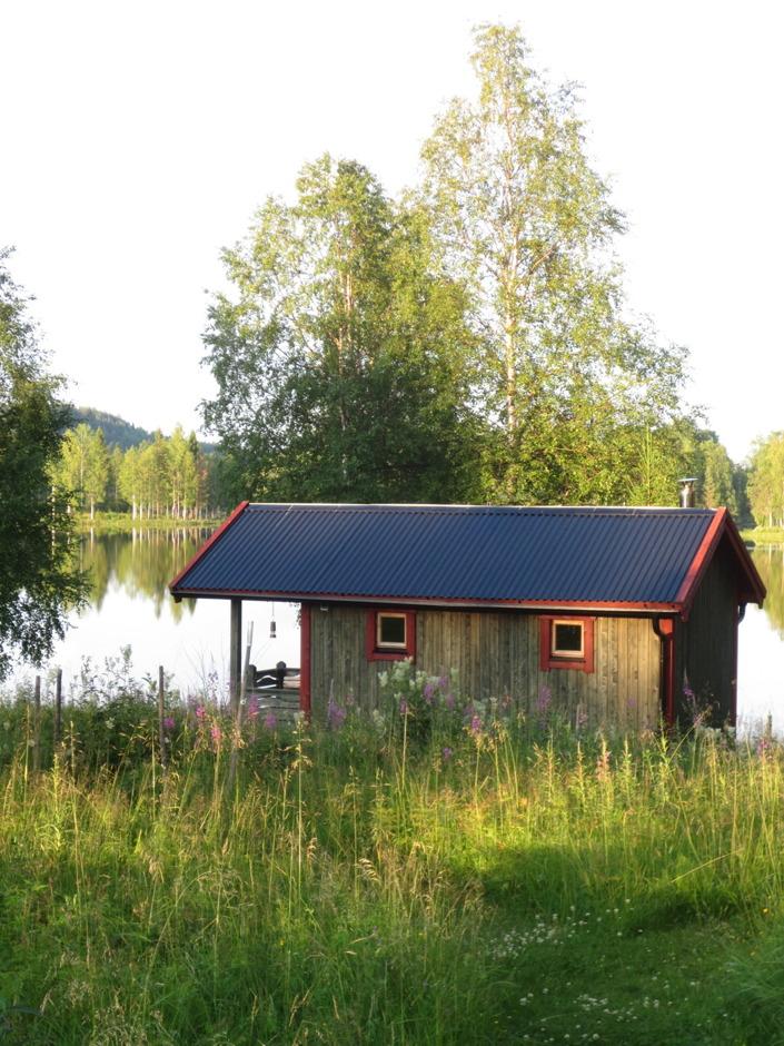 Bastun är vackert belägen precis vid sjön