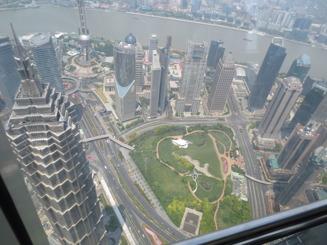 Shanghai från ovan