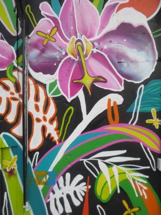 Väggmålning i Shoreditch