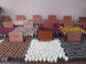 Inbjudande chokladpraliner från Dark sugars