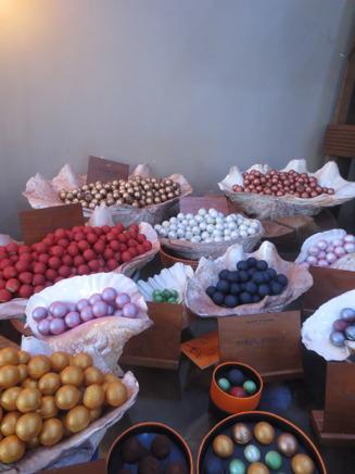 Smakrik choklad i form av vackra pärlor