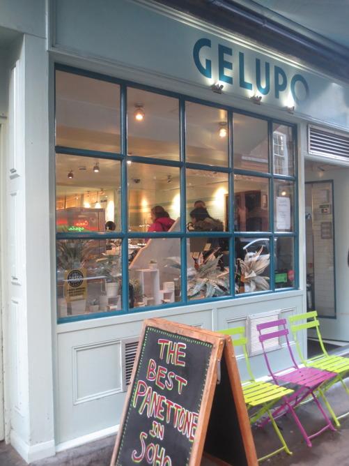 På Gelupo serveras den godaste och den konstigaste glassen jag ätit i London.