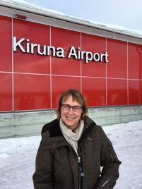 Äntligen framme i Kiruna