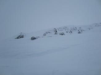 Snö, snö och mera snö.
