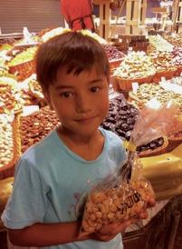 Cashewnötterna på Boquerian är inte billiga men goda.