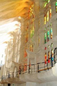 Insidan av Segrada Famillia