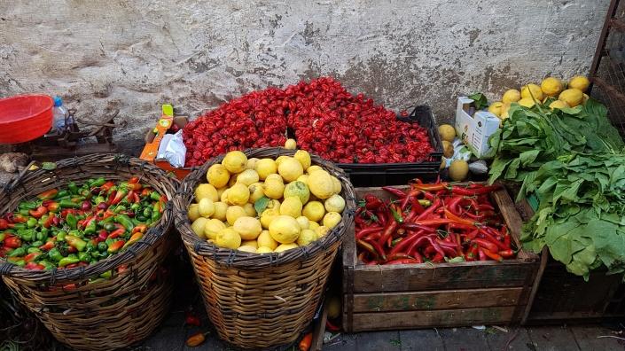 Ett besök på matmarknaden i Casablancas medina.