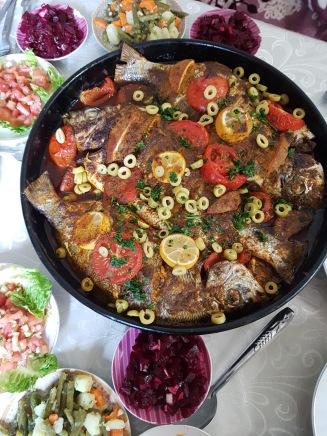 En härlig marockansk fiskrätt