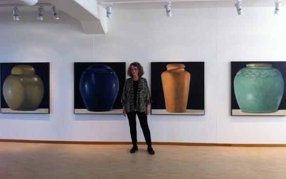 Karin EE von Törne Haern, Kanoper, Akrylmålningar