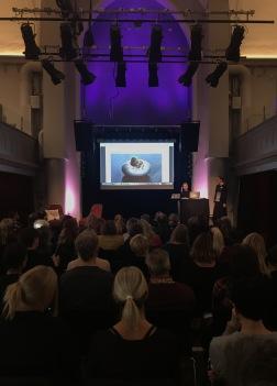 Konsthantverkaren Lena Wilhammar föreläser på seminariedagen Formstark Norrbotten hösten 2018