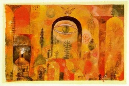 "Paul Klee ""With the eagle"""