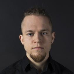 Konstnär Sebastian Björkman