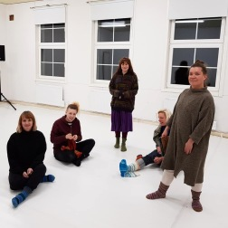 Några deltagare i vårt performancenätverk: Linda Remahl, Jenny Schinkler, Yessiqa Lövbrand, Simone Pusch, Meri Nikula