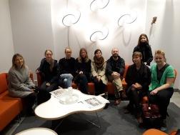 Gruppbild på arrangörerna i nätverket under konferens i Luleå.