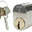 Lås med 3 nycklar