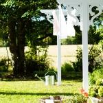 Tvättlina Dellas Garden-5, Tvättställningar. Gammeldagstvättställning , Förråd. Snygga, fina och snyggt förråd från svensktillverkade Della´s Garden. Ett förråd med många tillval, samt lekstugor och