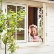 Dellas Garden Bexhill 3 Vit med fönster och svart tak-7, Förråd. Snygga, fina och snyggt förråd från svensktillverkade Della´s Garden. Ett förråd med många tillval, samt lekstugor och snickarglädje.