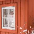Bexhill 1 8, Förråd. Snygga, fina och snyggt förråd från svensktillverkade Della´s Garden. Ett förråd med många tillval, samt lekstugor och snickarglädje.  Della´s trädgårdsbodar, redskapsbodar, frigg
