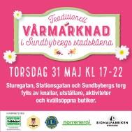 Julmarknad Sundbybergs stadskärna
