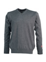Ivanhoe Cashwool V-neck Male - Grey 3XL