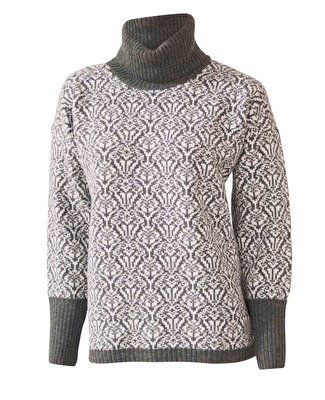 Ivanhoe Korrebo Roll Neck - Grey 42