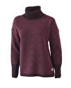 Ivanhoe Korrebo Roll Neck - Raspberry wine 44