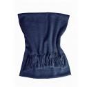 Ivanhoe Halsduk GY Pixie Scarf - Steel blue
