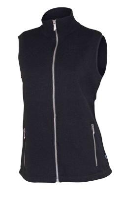 Ivanhoe Flisan Vest - Black 38