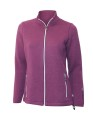 Ivanhoe Flisan Full Zip - Raspberry wine 44