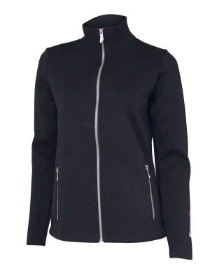 Ivanhoe Flisan Full Zip - Black 36