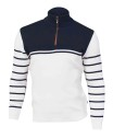 Ivanhoe Mats Half Zip - Off-white M