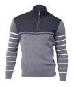 Ivanhoe Mats Half Zip - Grey XXL
