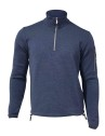 Ivanhoe Assar Half Zip - Steel Blue 3XL